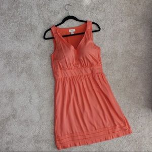 LOFT orange dress size 6